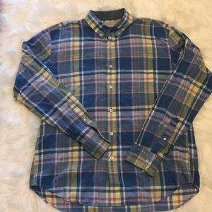 JCrew Men's long sleeve button down